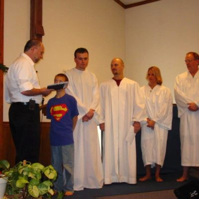 2006-Pastor Philip, Will, Kerry, Troy, Deana, Mike